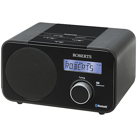 Buy ROBERTS Blutune 40 Bluetooth DAB/DAB+FM Digital Radio Online at johnlewis.com