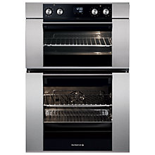 Buy De Dietrich DOD1278X Double Electric Oven, Stainless Steel Online at johnlewis.com