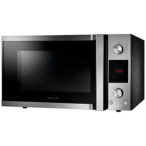 Buy Samsung MC455TBRCSR Microwave with Grill, Stainless Steel Online at johnlewis.com