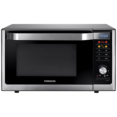 Samsung mc32f606tct smart microwave oven with grill stainless steel - Tefal raclette grill john lewis ...