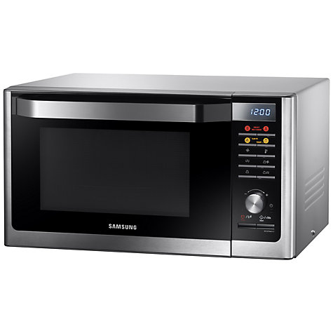 Buy Samsung MC32F606TCT Smart Microwave Oven with Grill, Stainless Steel Online at johnlewis.com