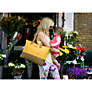 Buy Storksak Tote Changing Bag, Yellow Online at johnlewis.com