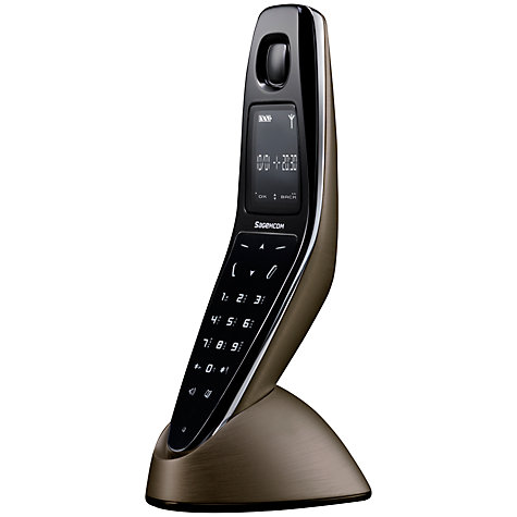 Buy Sagemcom D790A Digital Telephone with Answering Machine, Single DECT, Bronze Online at johnlewis.com
