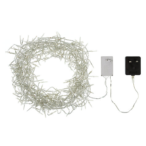 Buy John Lewis Cluster LED Line Light, x360, Clear Online at johnlewis.com