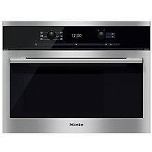 Buy Miele DG6300 ContourLine Single Electric Steam Oven, Clean Steel Online at johnlewis.com