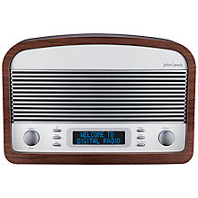 Buy John Lewis Grange DAB/FM Bluetooth Radio, Walnut Online at johnlewis.com
