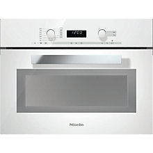 Buy Miele M6262TC PureLine Built-in Microwave with Grill Online at johnlewis.com