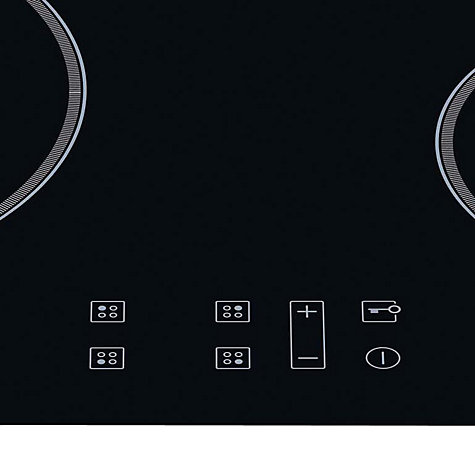 Buy Hotpoint CIB644CE Signature Induction Hob, Black Glass Online at johnlewis.com