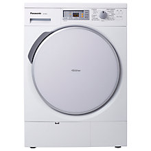 Buy Panasonic NH-P80G2 Condenser Tumble Dryer, 8kg Load, A++ Energy Rating, White Online at johnlewis.com