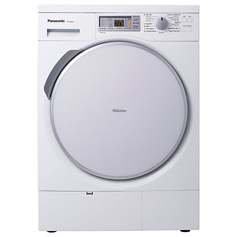 Buy Panasonic NH-P80G2 Heat Pump Condenser Tumble Dryer, 8kg Load, A++ Energy Rating, White Online at johnlewis.com