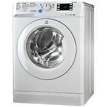 Buy Indesit XWE91282XW Washing Machine, 9kg Load, A++ Energy Rating, 1200rpm Spin, White Online at johnlewis.com