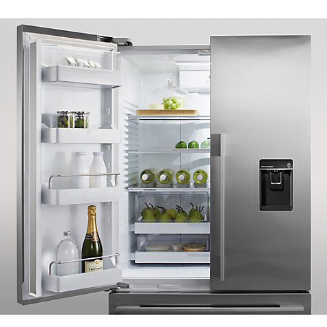 Buy Fisher & Paykel RF540ADUSX4 Goliath 3-Door Fridge Freezer, Stainless Steel Online at johnlewis.com