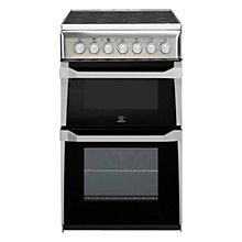 Buy Indesit IT50C1XXS Electric Cooker, Stainless Steel Online at johnlewis.com