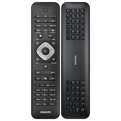"Buy Philips 60PFL6008S LED 1080p 3D Smart TV, 60"" with Ambilight, Freeview HD & 4x 3D Glasses Online at johnlewis.com"