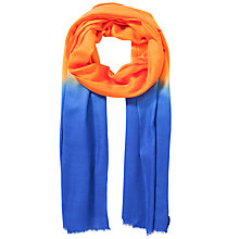Buy Allegra London Cashmere Dip Dye Scarf Online at johnlewis.com