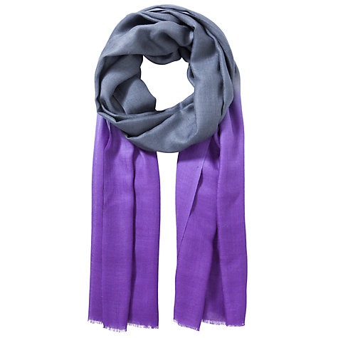 Buy Allegra London Lady Cashmere Dip Dye Scarf Online at johnlewis.com