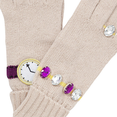 Buy John Lewis Ring and Watch Gloves, Natural Online at johnlewis.com