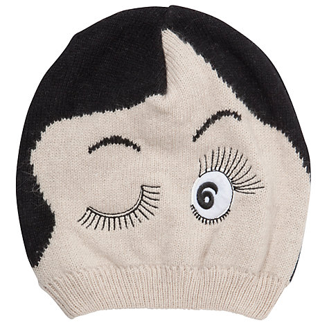 Buy John Lewis Doll Face Beanie Hat, Natural Online at johnlewis.com