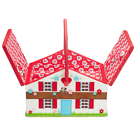Buy Cath Kidston Chalet Sewing Basket Online at johnlewis.com
