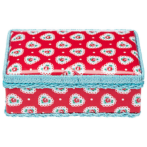 Buy Cath Kidston Sweetheart Rose Mending Kit Online at johnlewis.com