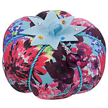Buy John Lewis Festive Floral Pin Cushion Online at johnlewis.com
