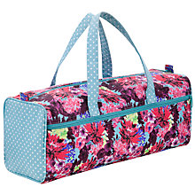 Buy John Lewis Festive Floral Knit Bag Online at johnlewis.com
