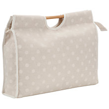 Buy John Lewis Spot Sewing Bag, Neutral Online at johnlewis.com