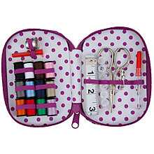 Buy John Lewis Daisychain Print Sewing Kit, Multi Online at johnlewis.com