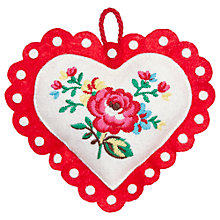 Buy Cath Kidston Heart Pin Cushion Online at johnlewis.com