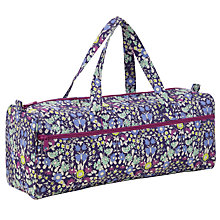 Buy John Lewis Daisychain Print Long Knitting Bag, Multi Online at johnlewis.com