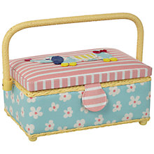 Buy John Lewis Sausage Dog Small Rectangular Sewing Basket Online at johnlewis.com