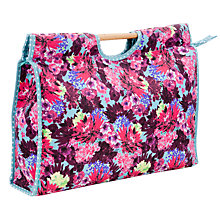 Buy John Lewis Festive Floral Craft Bag Online at johnlewis.com