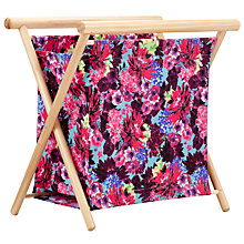 Buy John Lewis Festive Floral Knitting Frame Bag Online at johnlewis.com