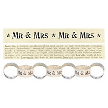 Buy East of India Mr & Mrs Paperchain, 3m Online at johnlewis.com