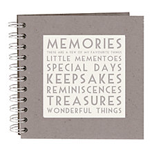 Buy East of India Memories Scrap Book Online at johnlewis.com