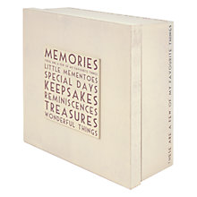 Buy East of India Memories Box Online at johnlewis.com