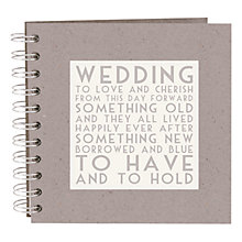 Buy East of India Wedding Scrap Book Online at johnlewis.com
