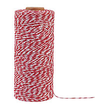 Buy East of India Packing String, Red/White Online at johnlewis.com