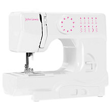 Buy John Lewis Mini Sewing Machine, White Online at johnlewis.com