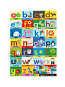 Happy Spaces Alphabet Canvas Print