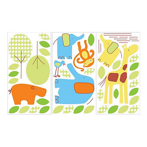 Buy Gro Jolly Jungle Wall Sticker Set Online at johnlewis.com