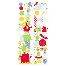 Buy Gro Aliens Height Chart Sticker Set Online at johnlewis.com
