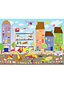 Happy Spaces Busy Building Site Canvas Print