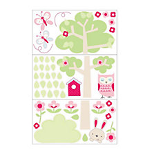 Buy Gro Hetty Wall Sticker Set Online at johnlewis.com