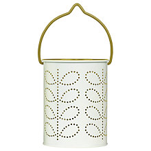 Buy Orla Kiely Tealight Lantern, Green Online at johnlewis.com
