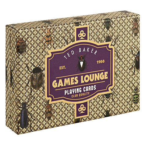 Buy Ted Baker Bug Playing Cards Online at johnlewis.com