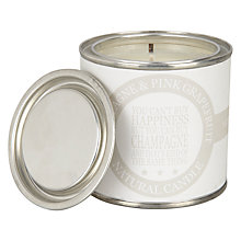 Buy Green & Co. Champagne & Pink Grapefruit Paint Pot Scented Candle Online at johnlewis.com