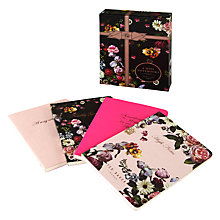 Buy Ted Baker Women's Mini Notebook, Set of 4 Online at johnlewis.com