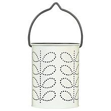 Buy Orla Kiely Tealight Lantern, Grey Online at johnlewis.com