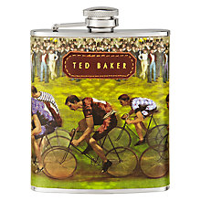 Buy Ted Baker Cycling Hip Flask, 170ml Online at johnlewis.com